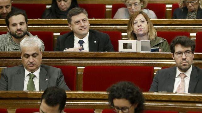 Los principales partidos secesionistas catalanes irán separados a las elecciones.  Fuente externa.