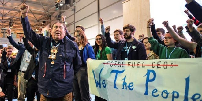 protestas en Bonn