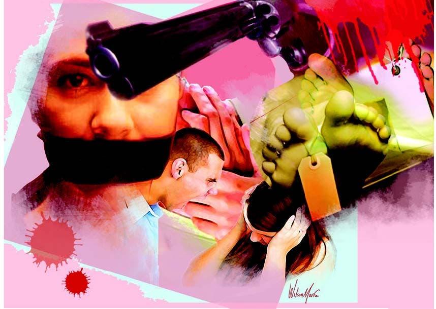 Hombres reconocen actos violencia al ser intervenidos