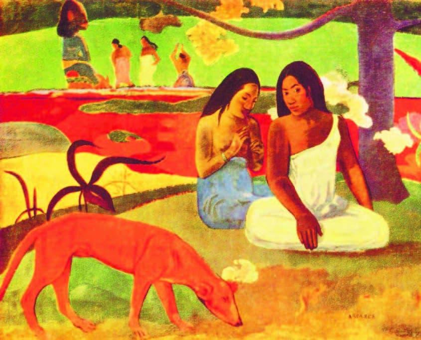 Gauguin   precursor multifacético Gauguin  es uno de los artistas franceses que anuncia la modernidad después de la revolución que significó el movimiento impresionista para la  búsqueda  de nuevas  luces,  nuevas  formas  pictóricas  y gráficas.