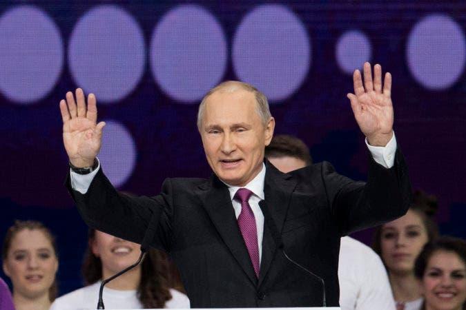Vladímir Putin .