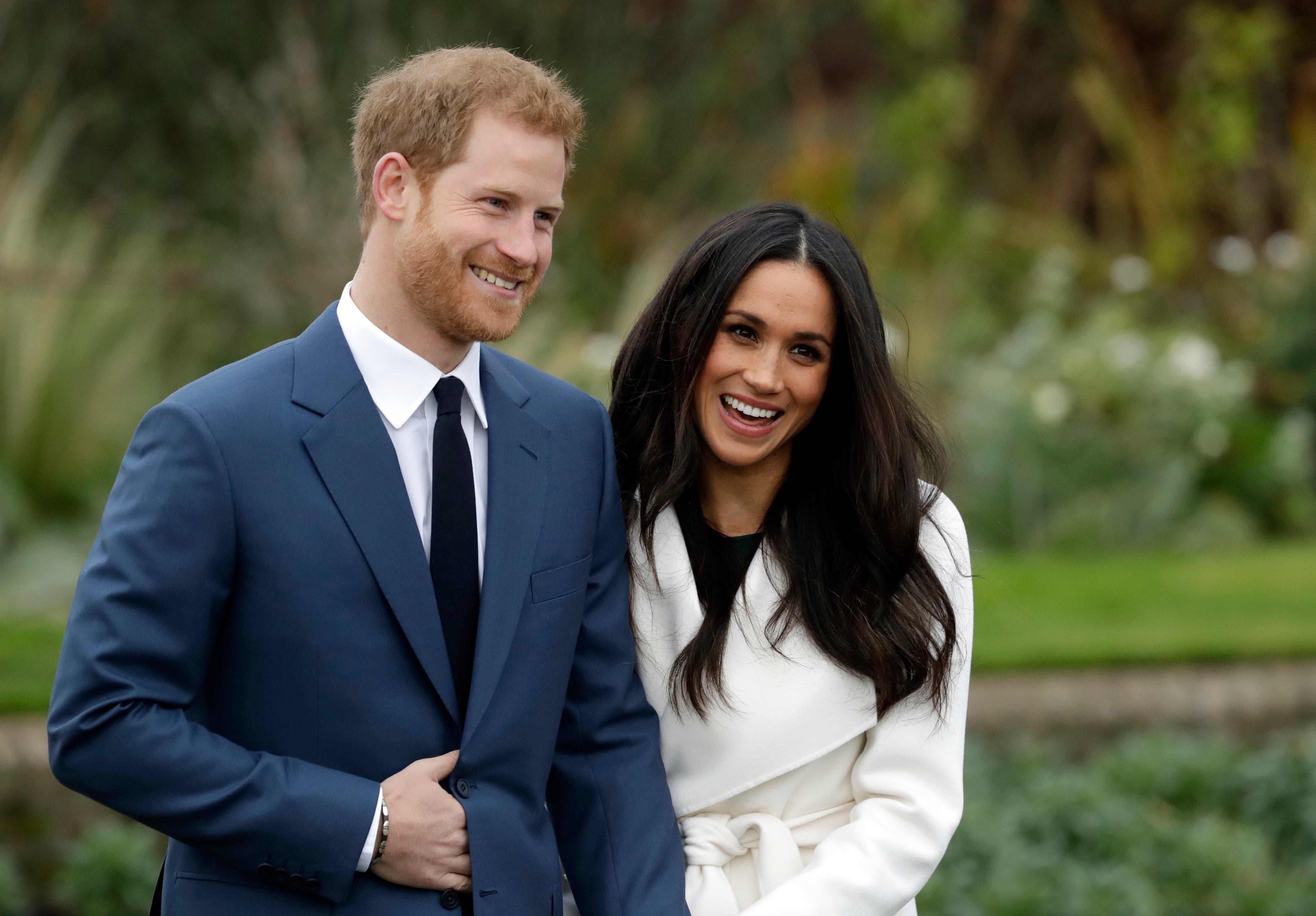 El príncipe Enrique y su prometida Meghan Markle anuncian la fecha de su boda