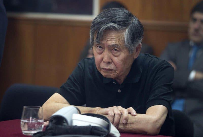 Fujimori debe retomar la condena que purga desde 2005