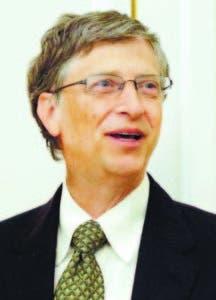 Bill Gates, uno de los hombres más ricos del mundo.