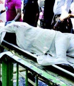 Cadáver Steisy Elizabeth Cordero
