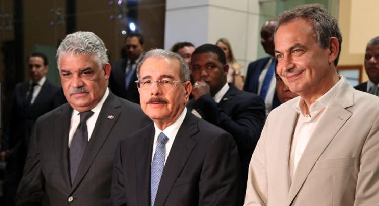 El diálogo se lleva a cabo en la Cancillería de República Dominicana/Foto: Fuente externa.