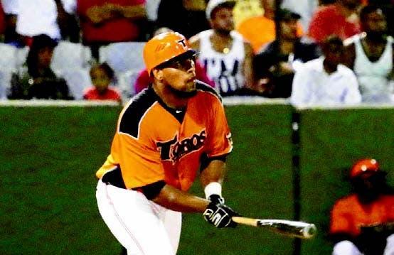Deibinson Romero lideró la ofensiva de los Toros