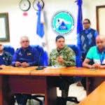 Director COE, se reunió con autoridades de seguridad