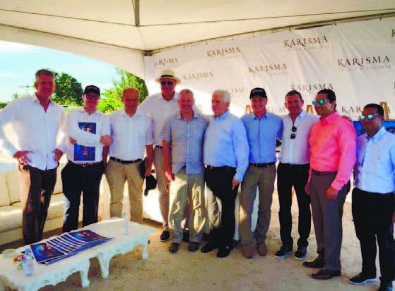 Ejecutivos de Tui Group, Karisma Hotels and Resorts y Cap Cana.