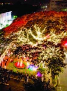 El árbol navideño del