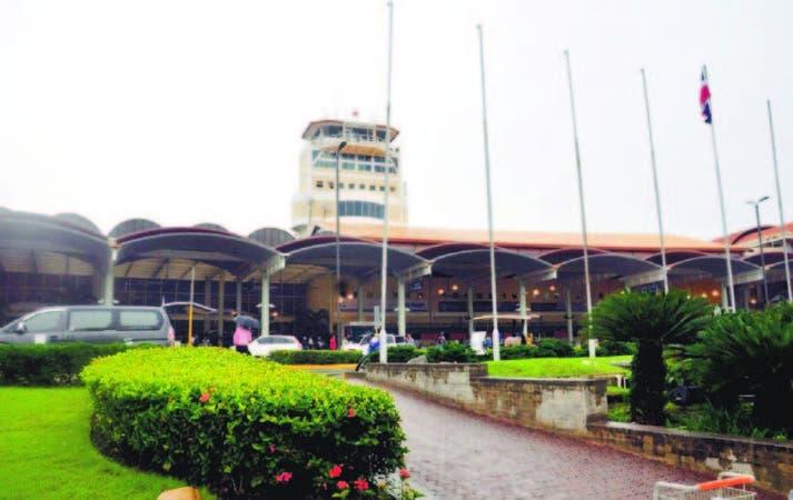 El Aeropuerto Internacional del Cibao, ubicado en Santiago.