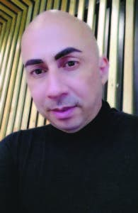 El maquillador Yury Arias