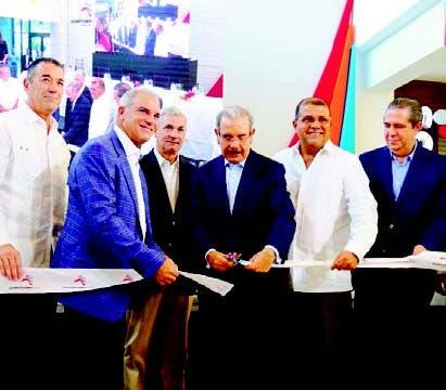 El presidente Danilo Medina encabezó el acto.