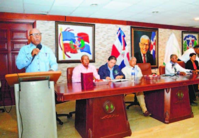 El presidente de la Asociación Nacional de Profesionales Agropecuarios (Anpa), Danilo Severino, en la