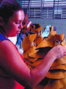 Empleados sector calzados