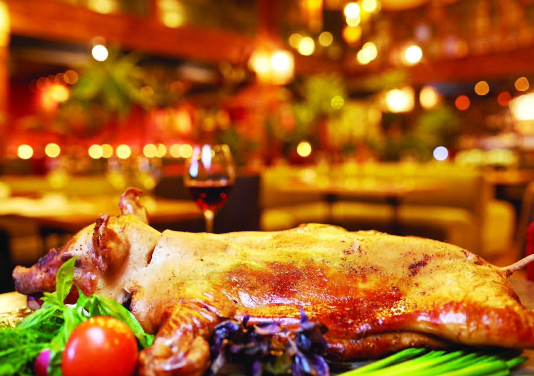 En los últimos años se ha popularizado rellenar el cerdo con moro. Aunque no es una novedad, cada vez crece más esta tendencia entre los comensales