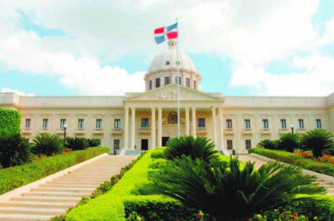 Fachada del Palacio Nacional de la República Dominicana