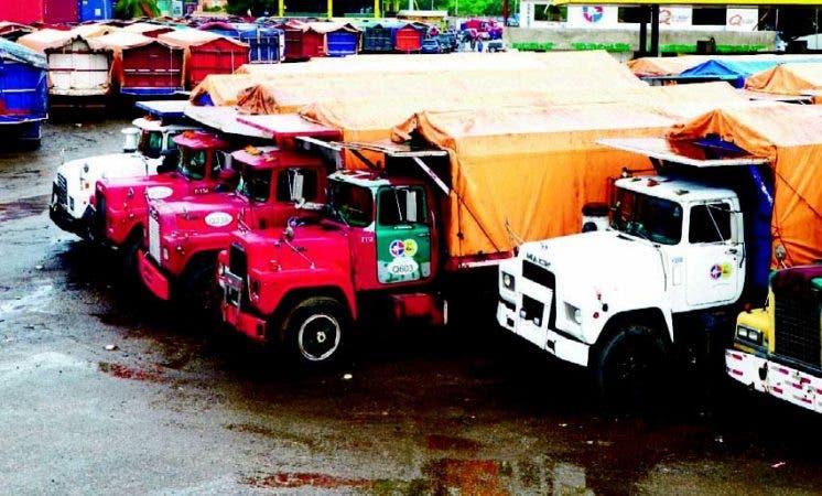 Fenatrado paralizó por varios días el transporte de carga por un conflicto con la empresa Malespín