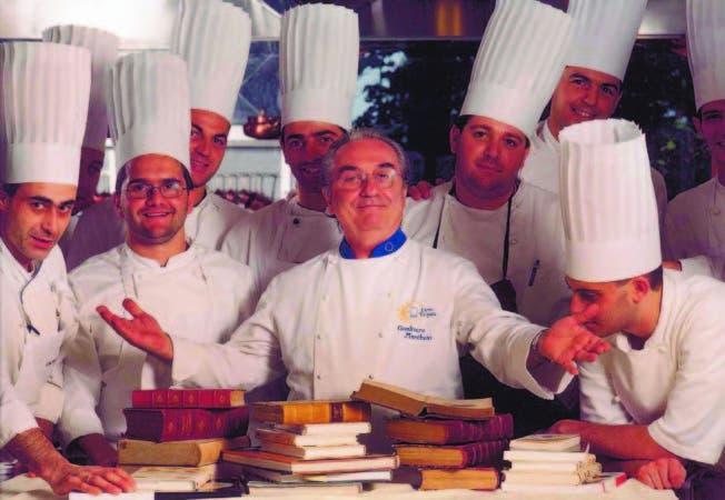 """Gualtiero Marchesi fue el introductor de los modos y conceptos de la """"nouvelle cuisine"""" en Italia, allá por los años setenta"""