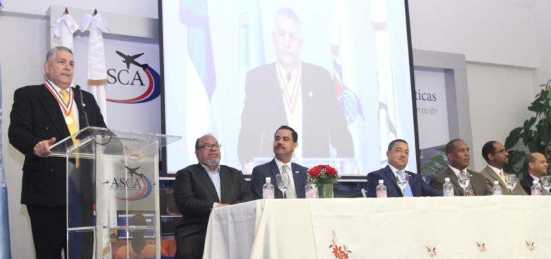 Melvin Cintron,director regional de la organizacion de Aviacion Civil Internacional. Hoy/Fuente Externa 8/12/17