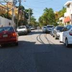 Calle Luisa Ozema Pellerano, en Gascue. Foto/ Aracelis Mena