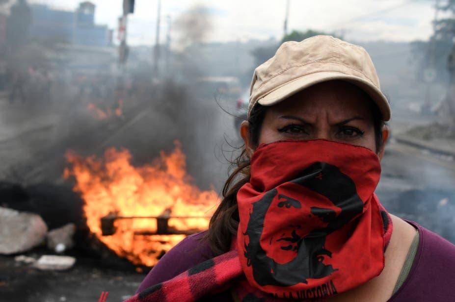 """Unos siete muertos dejan protestas contra """"fraude"""" en Honduras"""