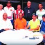 Integrantes del comité organizador del maratón La Vega-Moca.