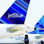 La aerolínea JetBlue.
