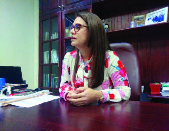 La magistrada Luisa Liranzo