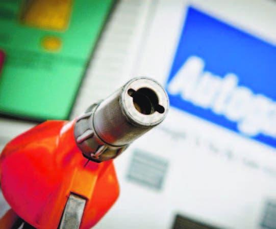 """Las estaciones de """"auto gás"""" utilizan un pistón de inyección lenta."""