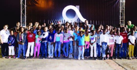 Los niños de la Fundación Merced