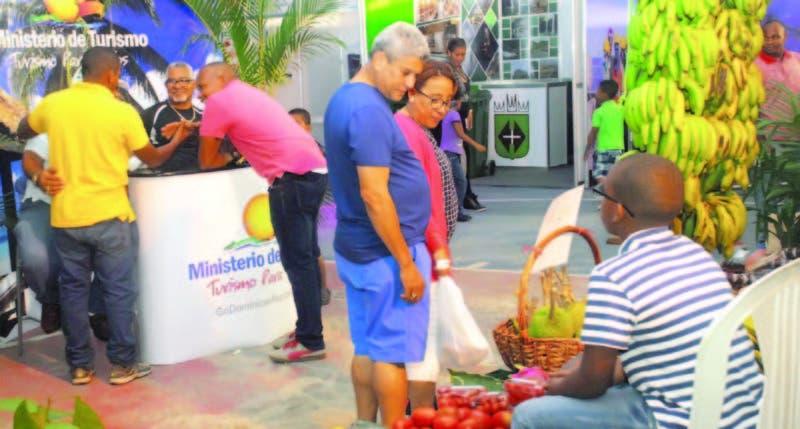 Los visitantes pudieron disfrutar de una gran variedad de productos y ofertas