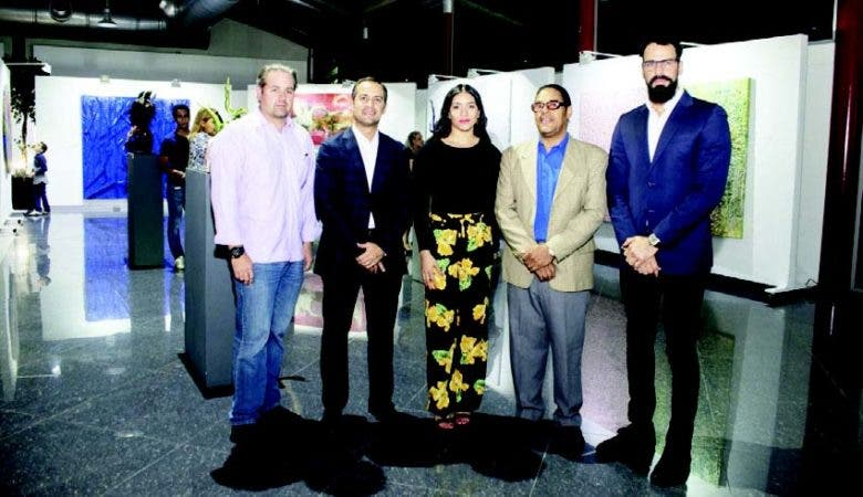 Manuel García, Ludwig García, Faracci Amaro, Elvis Aviles y Aquiles Azar Billini.
