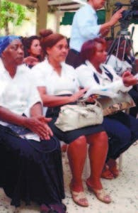 Mujeres que fueron capacitadas