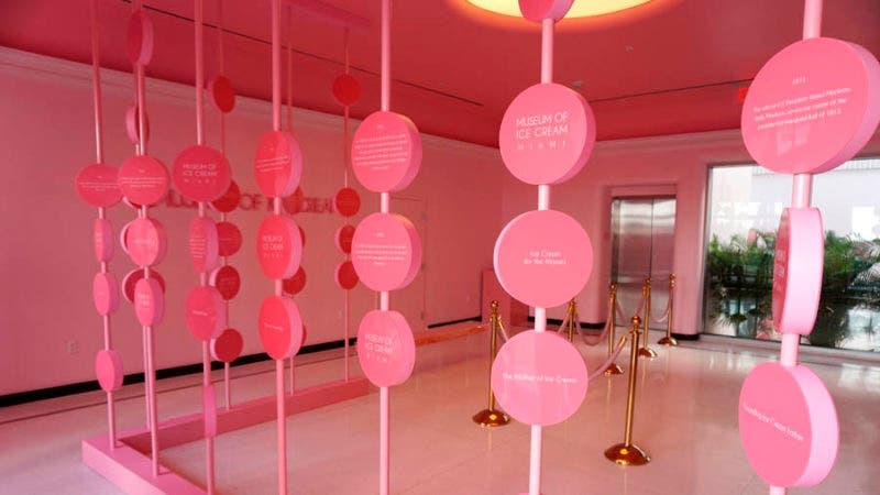 El Museo del Helado, una experiencia en rosa para los cinco sentidos