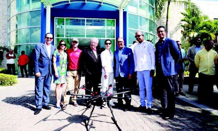 Para comprobar la eficacia del dron fue realizada una prueba piloto