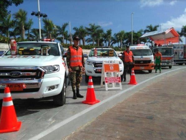 Los visitantes serán custodiados por una patrulla de carreteras/Foto: OP