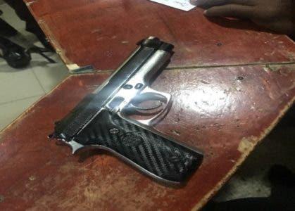 Pistola ocupada