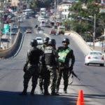 Policía militar Honduras