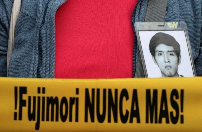 Protesta contra Fujimori