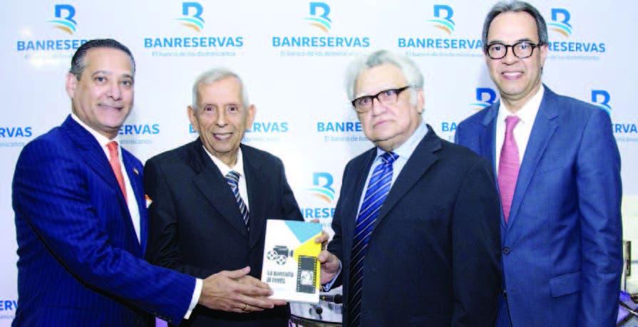 """Banreservas publica el libro """"La pantalla al revés"""""""