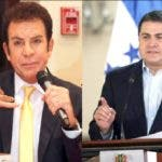 Salvador Nasralla y Juan Orlando Méndez/Fuente externa.