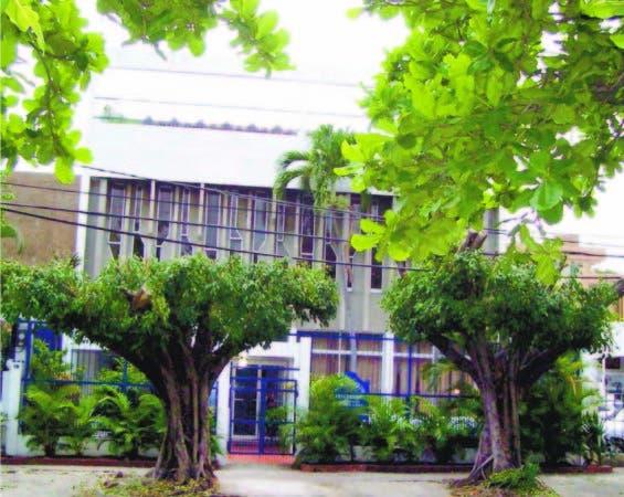 Sede de la Asociación de Auto-Realización de Santo Domingo, ubicada en la calle Presidente Vicini Burgos, número 54, en el sector de Gascue, de esta ciudad.