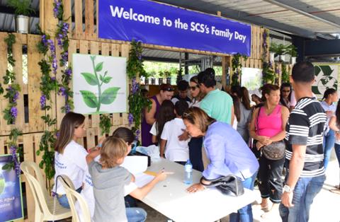 Santiago Christian School celebra día familiar
