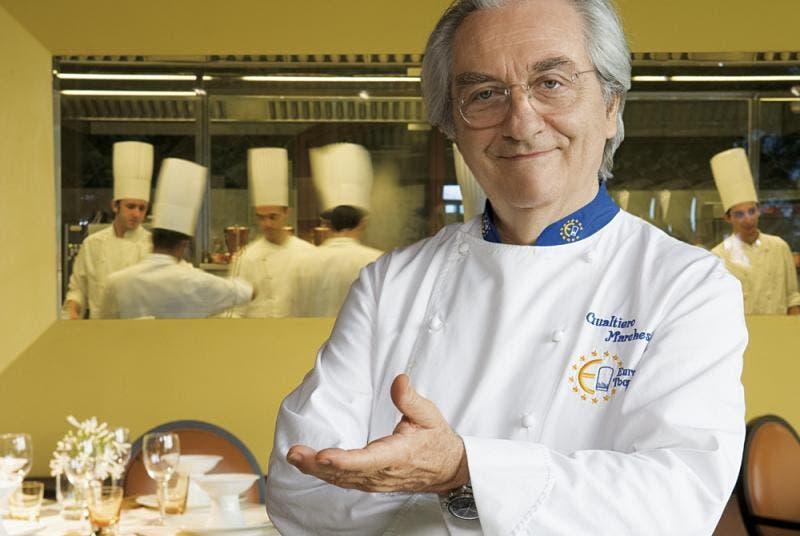 Muere el padre de la nueva cocina italiana Gualtiero Marchesi