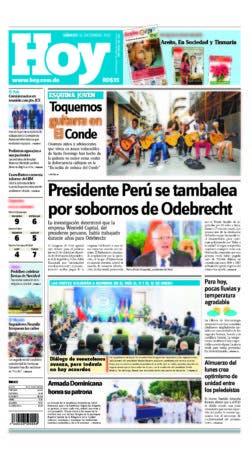 portada edicion impresa sabado 16  diciembre 2017
