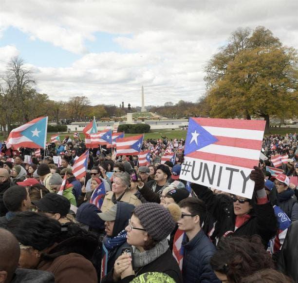 Protestan ante Congreso de EEUU por impacto de la reforma fiscal para P.Rico