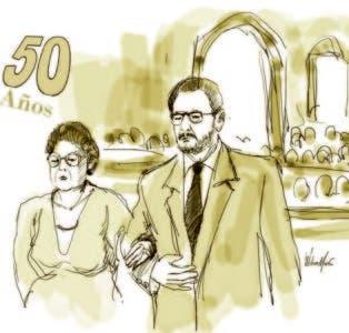 Cincuenta años  de convivencia