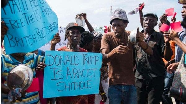 En Haití, manifestantes anti Trump exigen salida del gobierno local