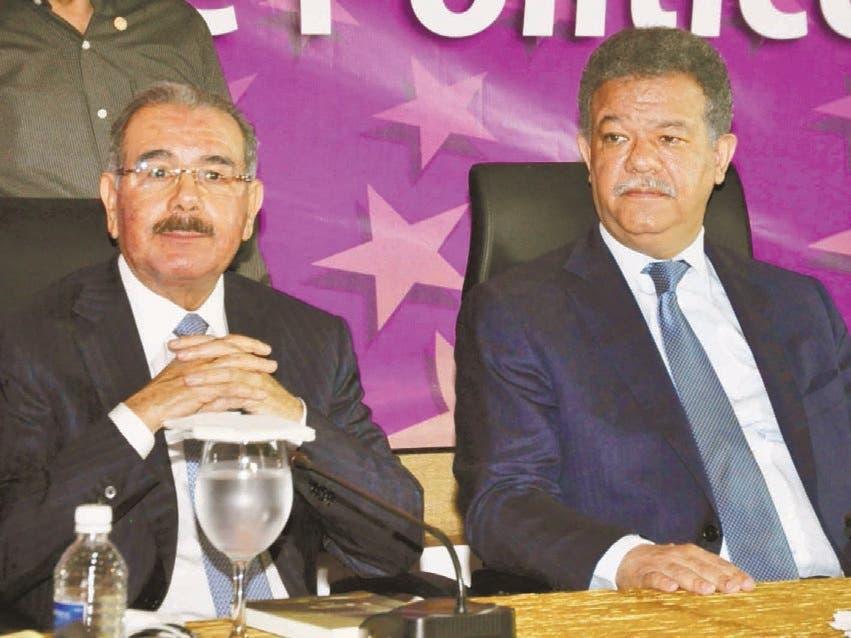PLD inicia año atrapado crisis por diferencias Danilo-Leonel